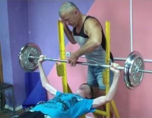 Тренировки худому