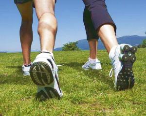Походка и обувь для голени