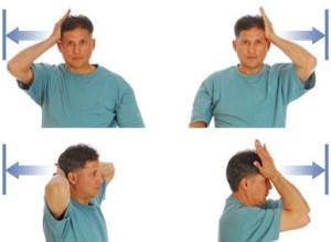 Усложняем упражнения для шеи