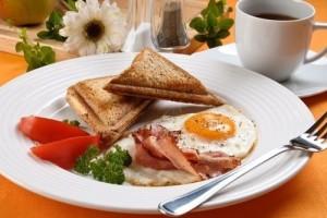 Плотный завтрак для набора веса