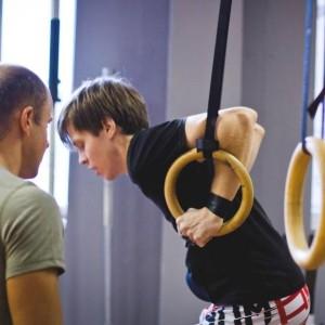 кроссфит упражнения на кольцах