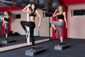 упражнения степ аэробики ля похудения