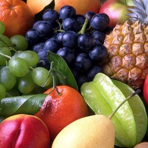 фркуты и ягоды при похудении