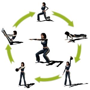 круговая тренировка дома