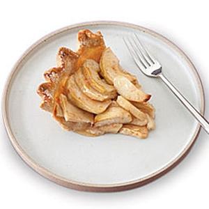 низкокалорийный яблочный пирок
