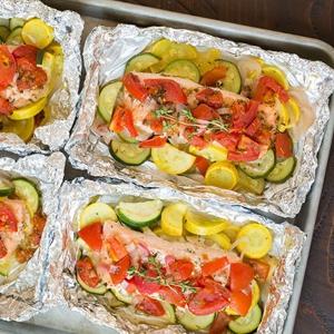 Рецепт салат с лососью
