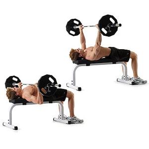 Упражнения для груди в зале
