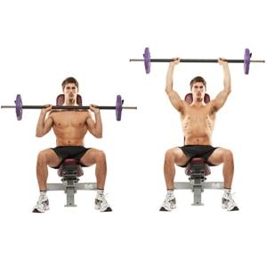 Особенности тренировки плеч