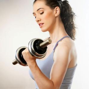упражненя с гантелями для похудения