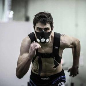 тренировка в маске