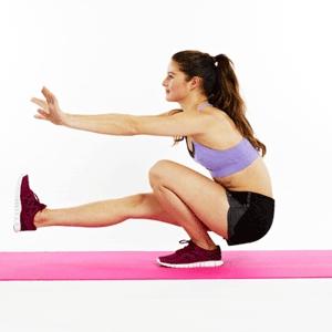 как нагрузить ягодичные мышцы